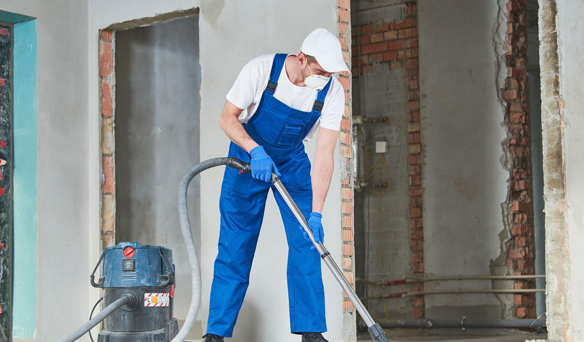 Reinigungsdienste - Baureinigung