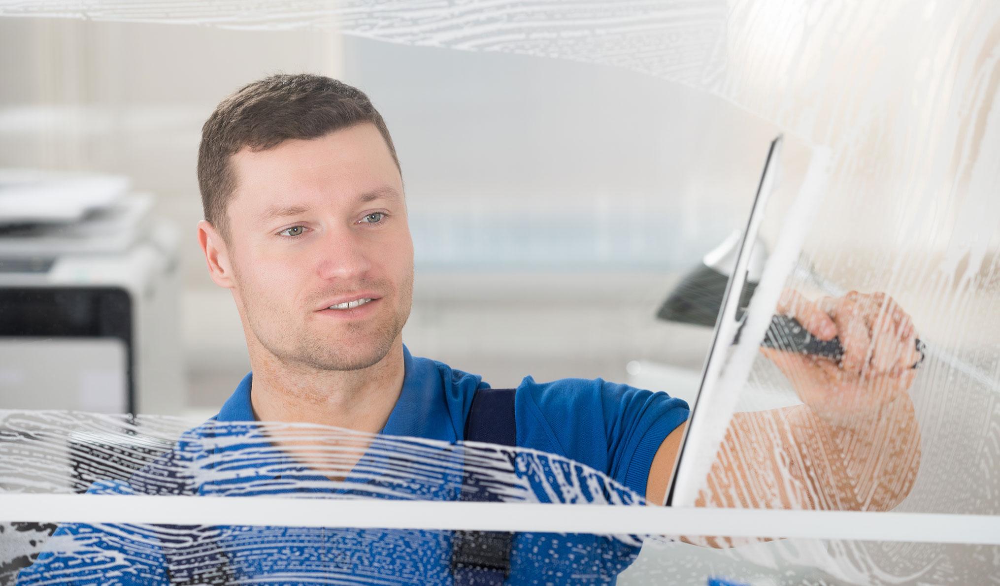 Reinigungsdienste - Glasreinigung