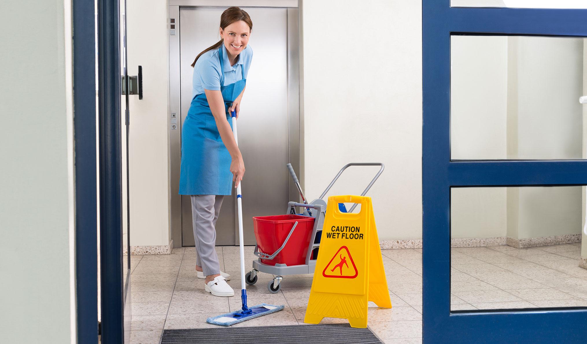Reinigungsdienste - Kehrwochendienst