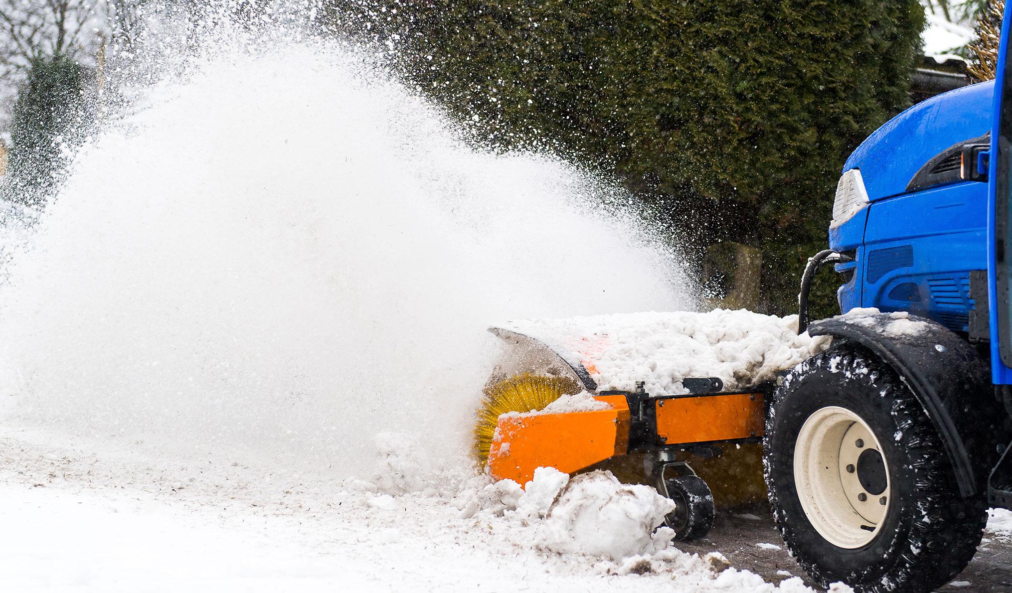 Reinigungsdienste - Winterdienst